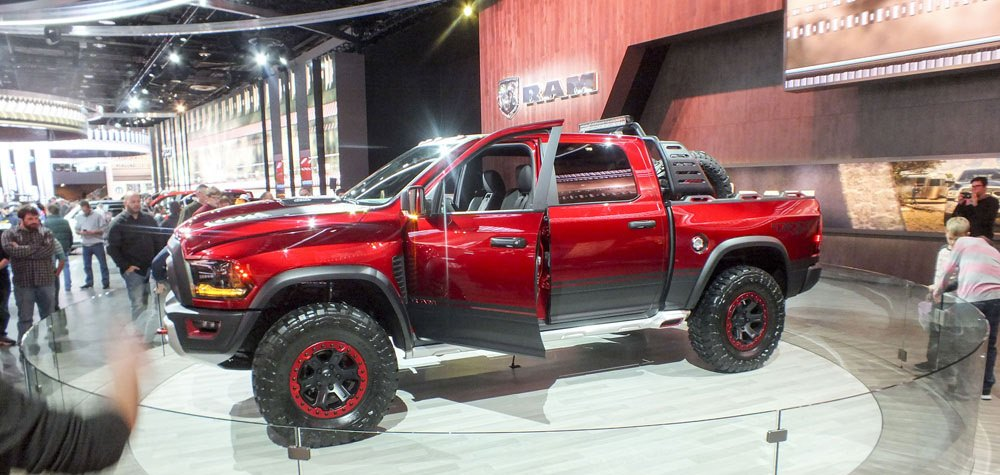 Ram Rebel TRX at the Chicago Auto Show